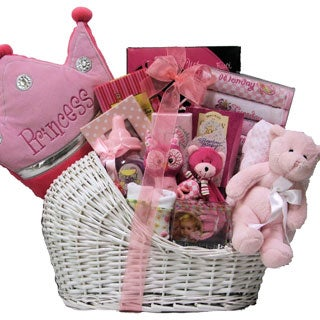 Great Arrivals Little Princess Baby Girl Gift Basket