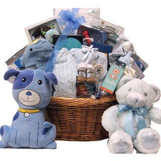 Great Arrivals Grand Welcome Baby Boy Gift Basket