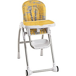 Evenflo Modern 200 High Chair in Kitchen Print Tangerine