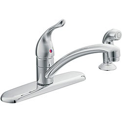 Moen 67430 Chateau One-Handle Low Arc Kitchen Faucet Chrome