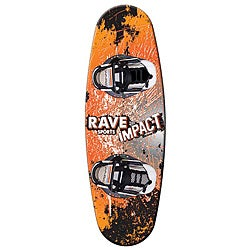 Rave Sports Compact Wakeboard with Charger Boots