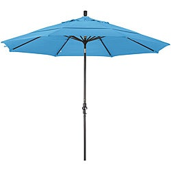 Escada Fiberglass Capri Olefin Crank/Tilt Umbrella (11-foot)