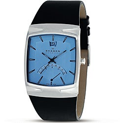 Skagen Men's Rectangular Stainless Steel Watch