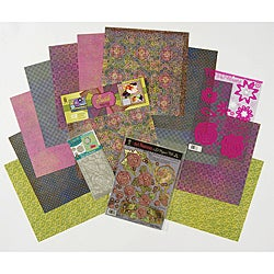 Hot off the Press Batik Papercrafting Kit