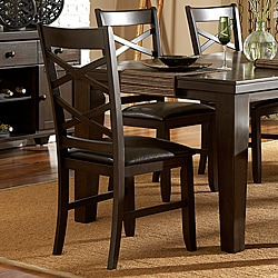 Callington Rich Espresso X Back Mission Side Chair (Set of 2)
