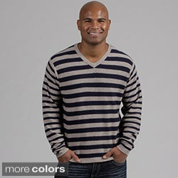Weatherproof Men&#39;s V-neck Wool/ Cashmere Sweater FINAL SALE