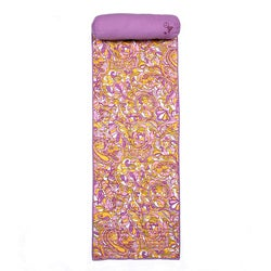 Steve Madden 66-inch Cotton/Polyester Modern Paisley Roll-up Beach Mat