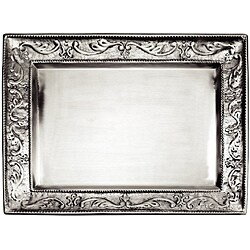 Old Dutch 'Victoria' Antique Embossed Rectangular Tray