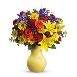 Teleflora Start the Party Hand-arranged Flower Bouquet