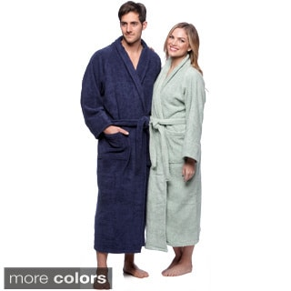 Simple Elegance Superior Collection Luxurious Egyptian Cotton Unisex Terry Bath Robe