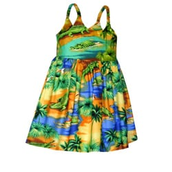 Gator Lagoon Girls Bungee Dress