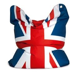 Sitting Bull Fashion God Save The Queen Bean Bag
