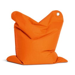 Sitting Bull Mini Bull Orange Bean Bag