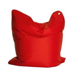 Sitting Bull The Bull Flame Red Bean Bag