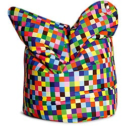 Sitting Bull Fashion Happy Pixels Bean Bag