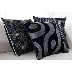 Gallactic 18-inch Square Decorative Pillows (Set of 3)