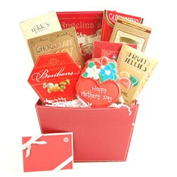 Mother's Day Cheer Gift Basket With $30 Gift Card