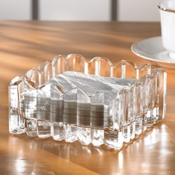 Crystal Clear Alexandria Crystal Clear Napkin Holder