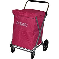 Easy Wheels Fuchsia Canvas Cart