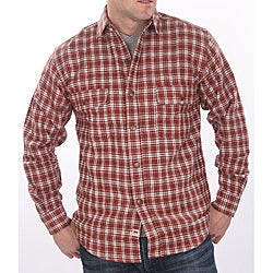 Farmall IH Men's Big/ Tall 'Brawny' Red Plaid Flannel Shirt