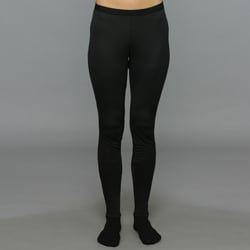 Patagonia Women's Capilene 1 Silkweight Black Baselayer Bottoms