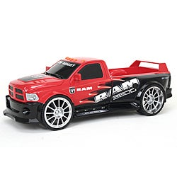 Full Function 1:16 Scale Red Dodge Ram Remote Control Toy Truck