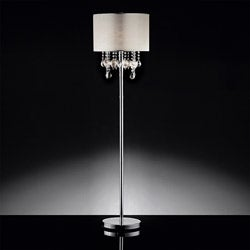 ETHAN HOME Audrina Drape Crystal Floor Lamp