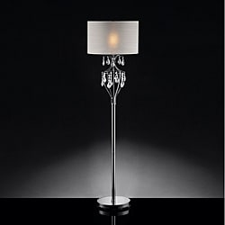 ETHAN HOME Elena Refined Crystal Floor Lamp