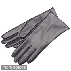 Portolano Women's Leather Gloves with Cashmere Lining