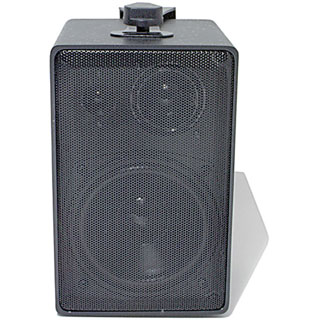 Speco DMS-3TS 1.0 Speaker System - 30 W RMS - Black