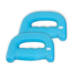 CAP Barbell Pair of 3-pound D Shaped Walking Weights