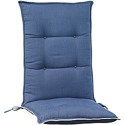 High Back/ Recliner Patio Chair Cushions (Set of 2)