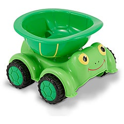 Melissa & Doug Tootle Turtle Dump Truck