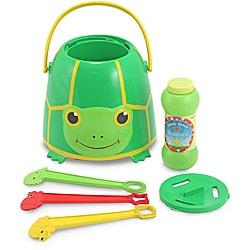 Melissa & Doug Tootle Turtle Bubble Bucket