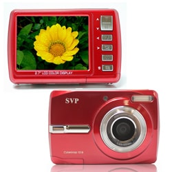 Cybersnap 1018 18MP Red Digital Camera