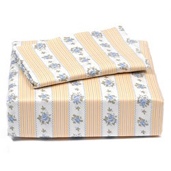 Laura Ashley Primrose Hill 4-piece King-size Sheet Set