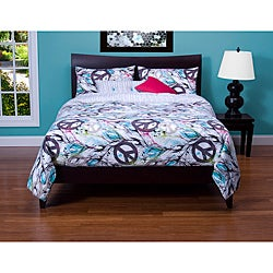 Dream Catcher 6-piece Reversible Queen-size Duvet Cover Set