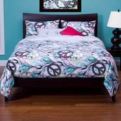 Dream Catcher 6-pc Reversible California King-size Duvet Cover Set