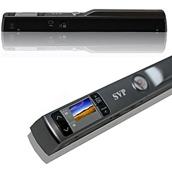 "SVP 900DPI PS4400 Handy Scanner with 1"" Color Display"