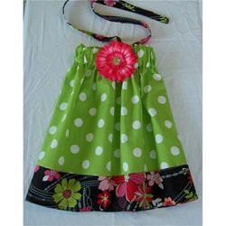 Just Girls Polka Dot Halter Dress