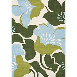 Hand-tufted Lambs Wool Area Rug (8' x 10')