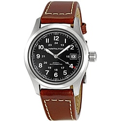 Hamilton Men's Khaki Field Black Dial Watch