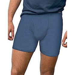 Hanes ComfortSoft Waistband Boxer Briefs (Pack of 4)