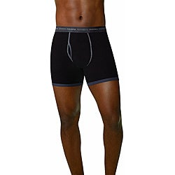Hanes Men's Ringer Boxer Brief (Pack of 4)
