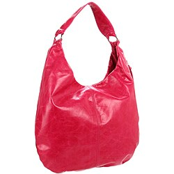 Hobo International Gabor Fuchsia Leather Hobo Bag