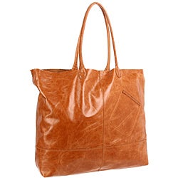 Hobo International Rozanne Caramel Leather Tote Bag