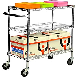 Trinity EcoStorage 3-Tier Chrome Cart