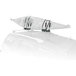 SpareHand VR-861 Foldable Roof-mount Metallic-gray Kayak Carrier