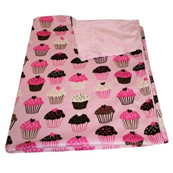 Thro Cupcakes Baby Blanket