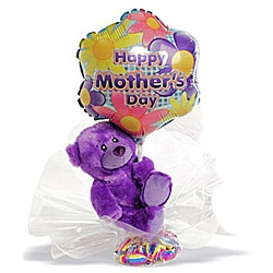 Happy Mother&#39;s Day Violet Bear Gift Set